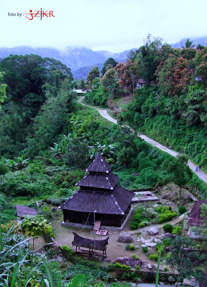 Surau Tuo Kayu Jao Solok, Sumatera Barat. Gambar dari Google